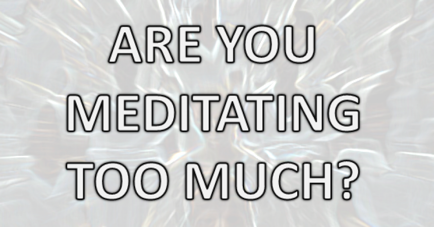 side effects of meditation